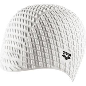 arena Bonnet Silicone Badmuts, white